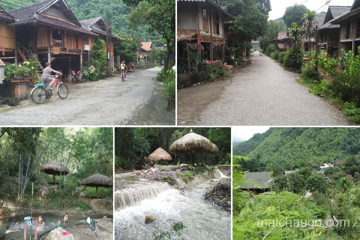 Bản văn điểm du lịch đẹp Mai Châu Hòa Bình