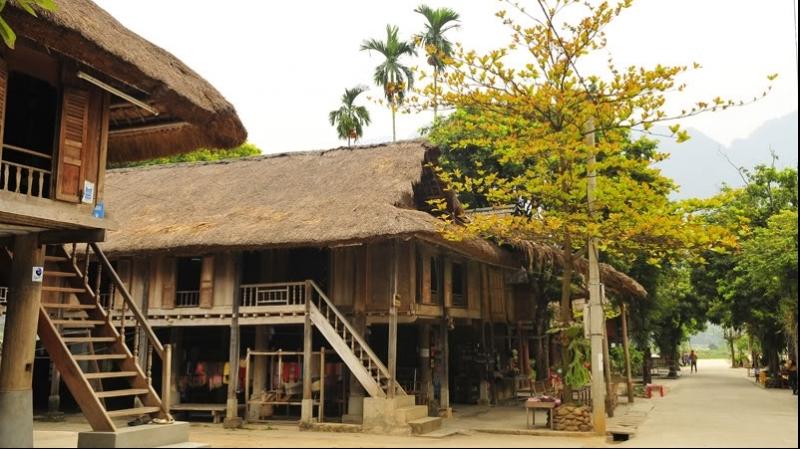 Nhà Nghỉ ở Mai Châu Hòa Bình giá rẻ, sạch,đẹp