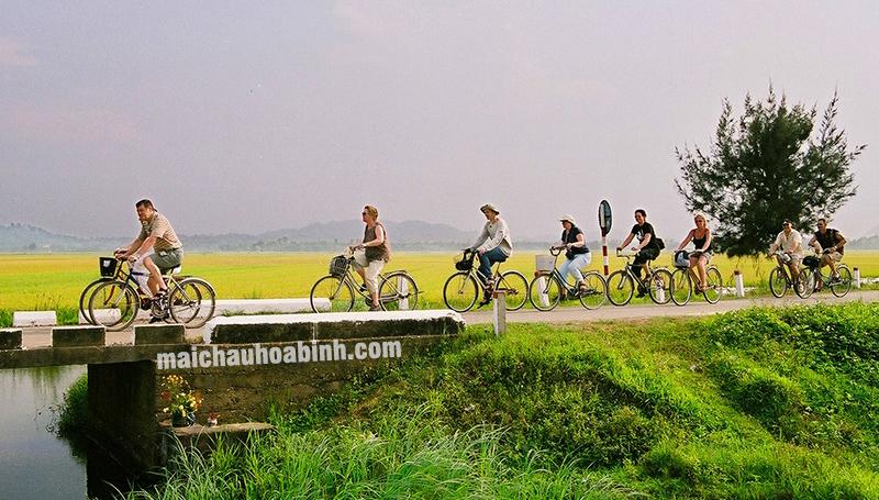 Cho Thuê xe máy xe đạp tại Bản Lác Mai Châu