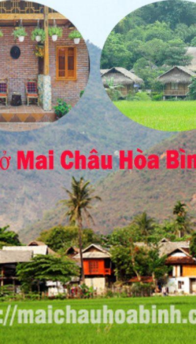 Homestay Mai Châu Hòa Bình giá rẻ đẹp