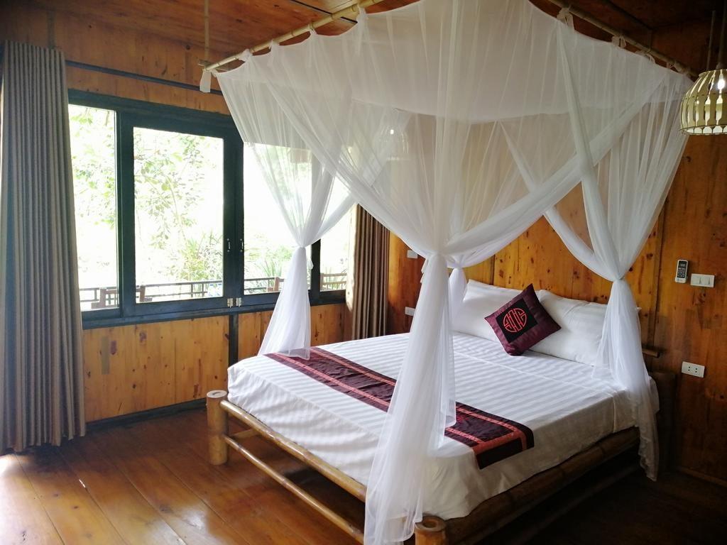 mai chau farmstay bungalow
